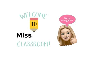 "Editable ""Looking Sharp"" Classroom Door Sign"