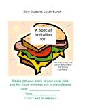 Editable Lunch Bunch Invitation