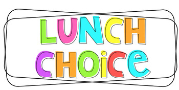 Editable Lunch Count Display
