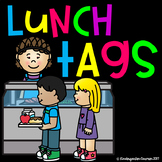 Editable Lunch Number Tags