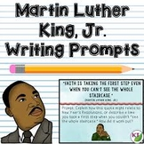 Editable MLK Day Critical Thinking Project