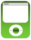 Editable MP3 player Back to School Bulliten Board