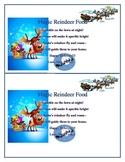 Editable Magic Reindeer food poem