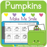 Editable Make Me Smile Kit: Pumpkins