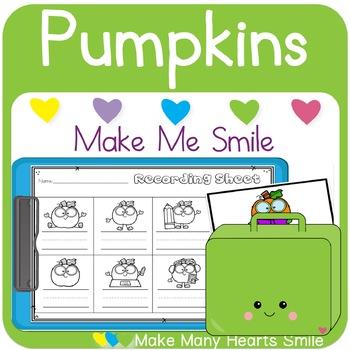 Editable Make Me Smile Kit: Pumpkins