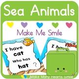 Editable Make Me Smile Kit: Sea Animals       MMHS43