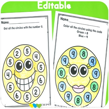 Editable Make Me Smile Kit: Smiley Faces