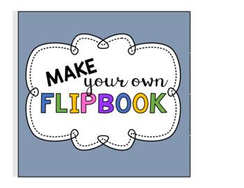 Editable Make your own Flipbook