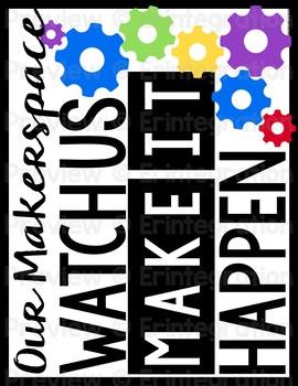 Bulletin Board: Editable Makerspace