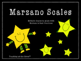 Editable Marzano Scale Template- Stars Theme