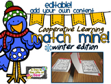Editable Match Mine Cooperative Learning Winter Editon