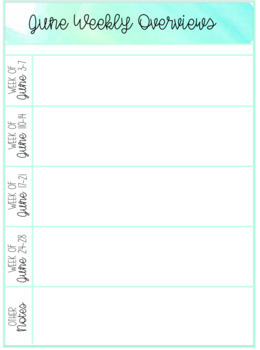 Maternity Leave Binder, Planner and Lesson Plan Templates - EDITABLE