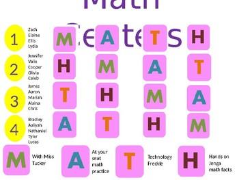 Editable Math Centers