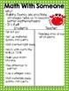 Math Daily 3 Ocean Themed I Chart {Editable}