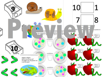 Editable Math Folder Games Bundle - 14 Games!