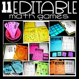 Editable Math Games