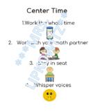 Editable Math OR Literacy Rotation Chart