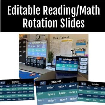 Editable Math Rotation Slides with Built-in Timer