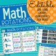 Editable Math Rotations Board PowerPoint