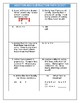 Editable Math Scoot Questions and Answer Sheet