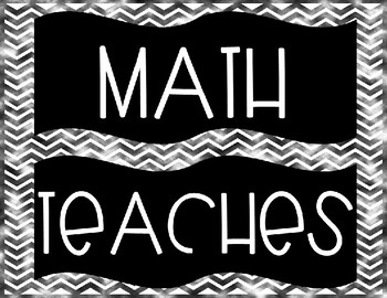 Editable Math Teaches Us How To... Posters