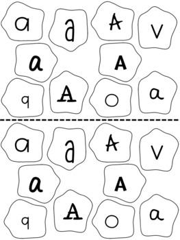 Editable Math and Letter Craft, Playdough Theme