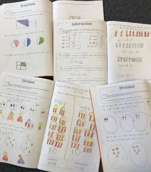 Editable Maths Assessments Year 1