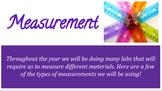 Editable Measurement Basics for Beginning Middle School Science