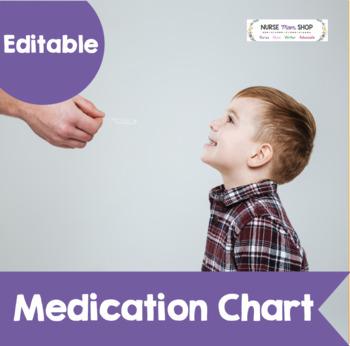 Editable Medication Chart