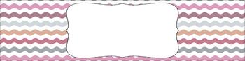 Editable Medium Sterilite Drawer Labels - Afternoon Tea   Editable PowerPoint