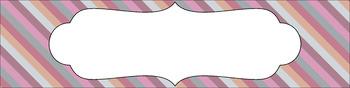 Editable Medium Sterilite Drawer Labels - Afternoon Tea