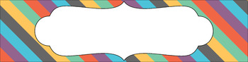 Editable Sterilite Drawer Labels - Multi-Color: Almost Fall