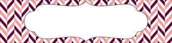 Editable Medium Sterilite Drawer Labels - Autumn Blush