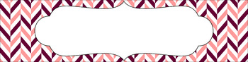 Editable Sterilite Drawer Labels - Dual-Color: Autumn Blush