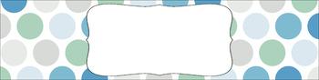 Editable Medium Sterilite Drawer Labels - Beach