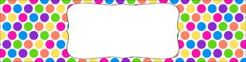 Editable Medium Sterilite Drawer Labels - Birthday Party | Editable PowerPoint