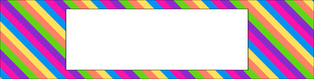Editable Sterilite Drawer Labels - Multi-Color: Birthday Party