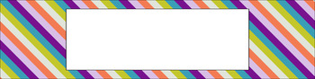 Editable Sterilite Drawer Labels - Multi-Color: Brunch