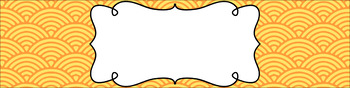 Editable Sterilite Drawer Labels - Dual-Color: Citrus
