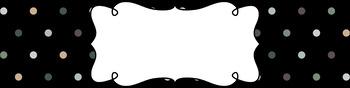 Editable Medium Sterilite Drawer Labels - Cozy Cabin