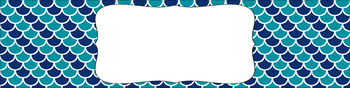 Editable Sterilite Drawer Labels - Dual-Color: Day at the Lake