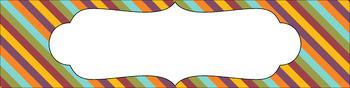 Editable Medium Sterilite Drawer Labels - Fair