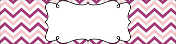 Editable Sterilite Drawer Labels - Dual-Color: Girly