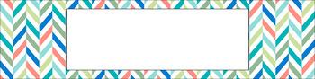 Editable Sterilite Drawer Labels - Multi-Color: Lazy Summer