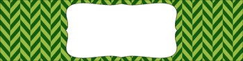 Editable Sterilite Drawer Labels - Dual-Color: Leafy Green