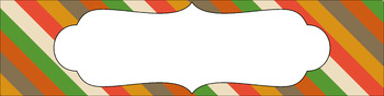 Editable Sterilite Drawer Labels - Multi-Color: Mod