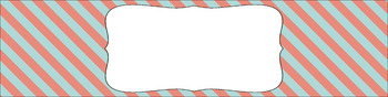 Editable Sterilite Drawer Labels - Dual-Color: Spring