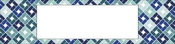 Editable Medium Sterilite Drawer Labels - Succulent