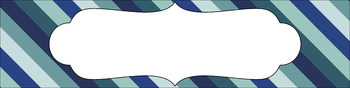 Editable Medium Sterilite Drawer Labels - Succulent