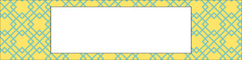 Editable Sterilite Drawer Labels - Dual-Color: Sunny Day
